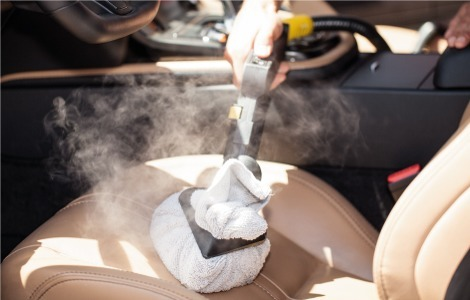 Free eCourse for car cleaning process and cleaning equipment