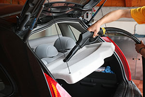 Car Interior Detailing with Steam