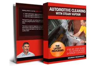 Includes a copy of the Automotive Cleaning with Steam Vapour guide book